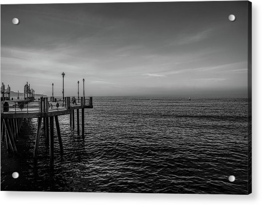 Early Morning Redondo By Mike-hope Acrylic Print