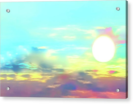 Early Morning Rise- Acrylic Print