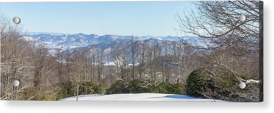 Easterly Winter View Acrylic Print