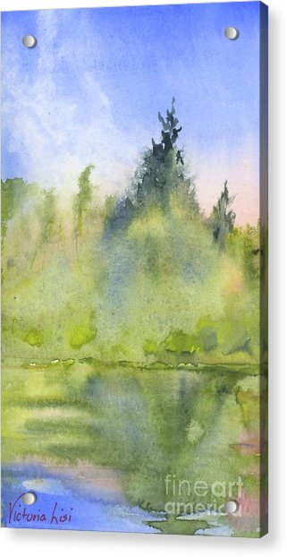 Edge Of Morning Acrylic Print