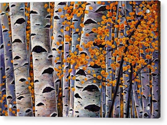 Effulgent October Acrylic Print