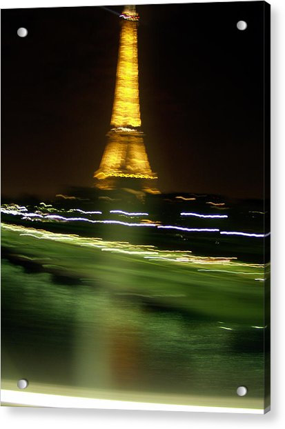 Eiffel Moves Acrylic Print