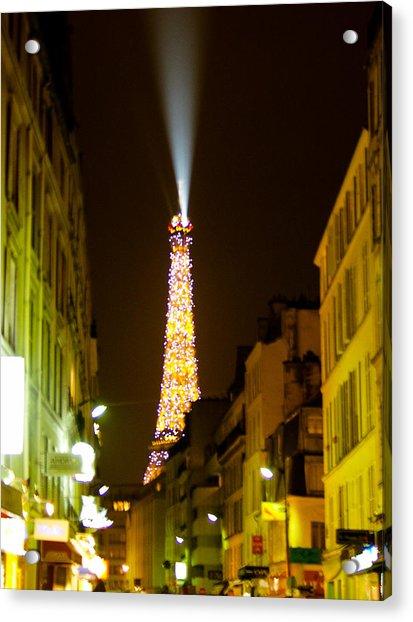 Eiffel Twinkle Acrylic Print