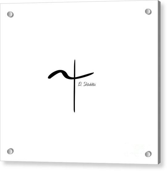 El Shaddai Acrylic Print