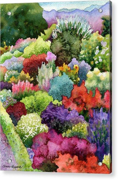 Electric Garden Acrylic Print