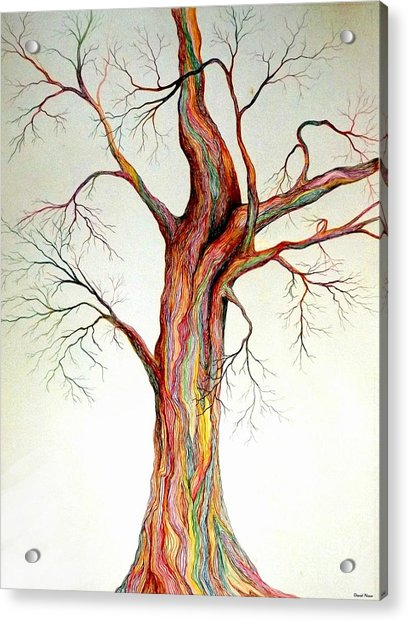 Electric Tree Acrylic Print