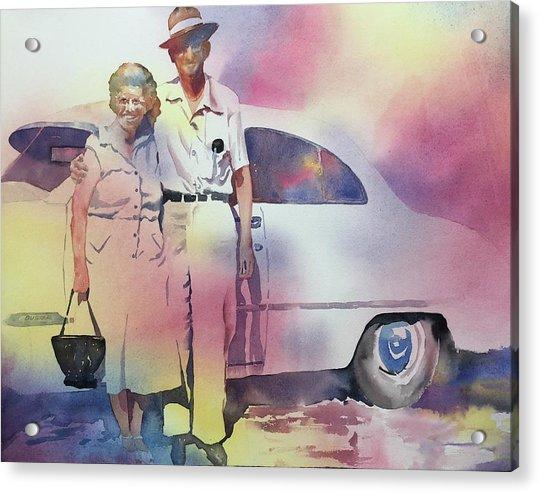 Elsie And Barney Shields Acrylic Print