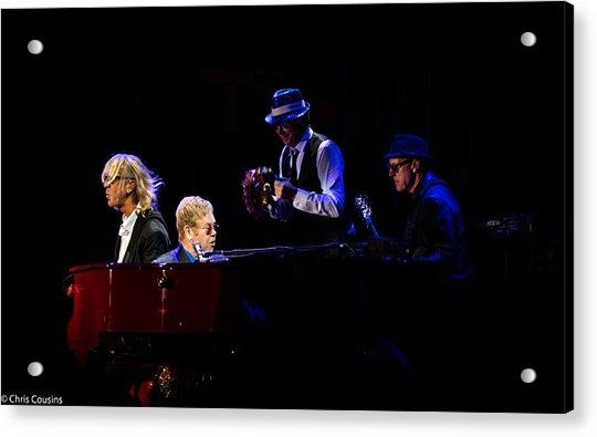 Elton - Gather Round Acrylic Print