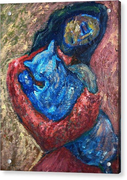 Embrace II Acrylic Print