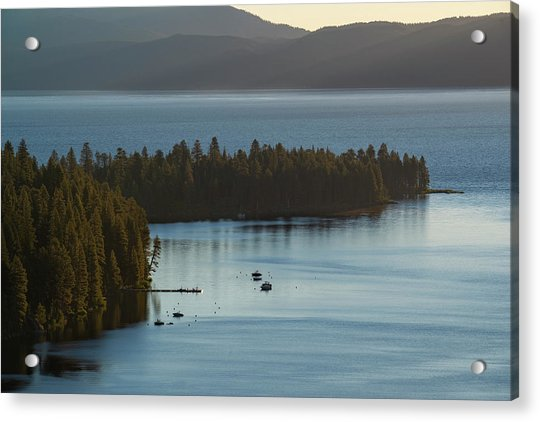 Emerald Bay Channel Acrylic Print