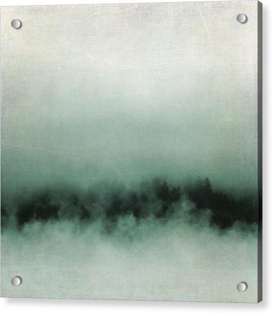 Emerald Mist Acrylic Print