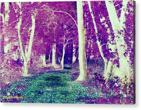 Emerald Path Acrylic Print