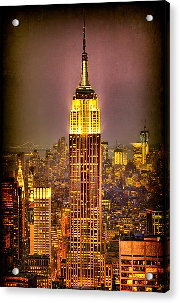 Acrylic Print featuring the photograph Empire Light by Chris Lord