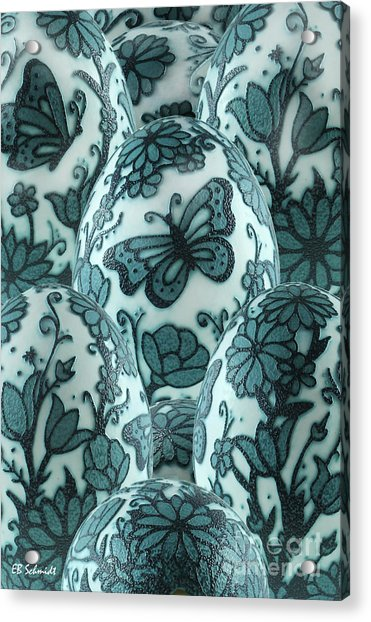 Emu Butterfly Garden Acrylic Print