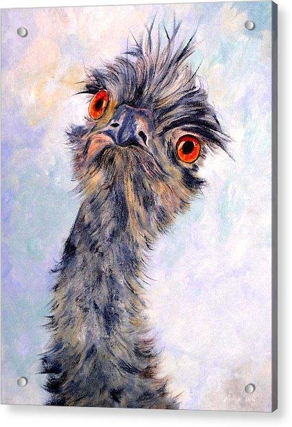 Emu Twister Acrylic Print