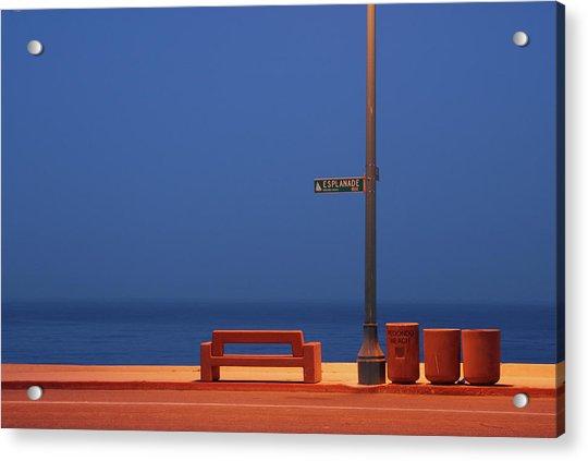 Esplanade Acrylic Print
