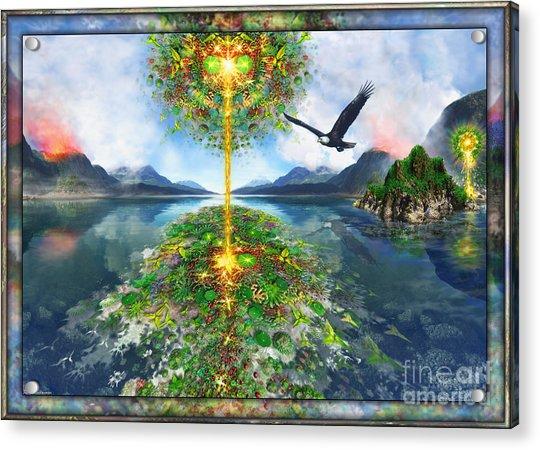 Etheric Lake Acrylic Print