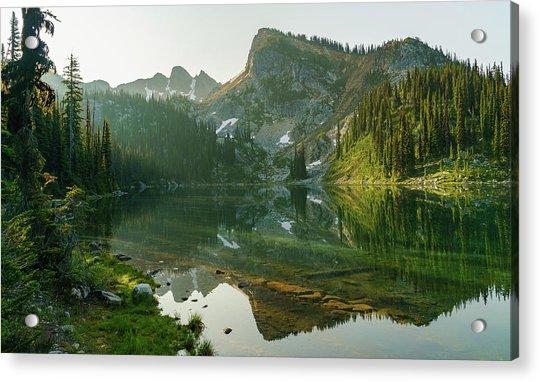 Eva Lake At Dawn Acrylic Print