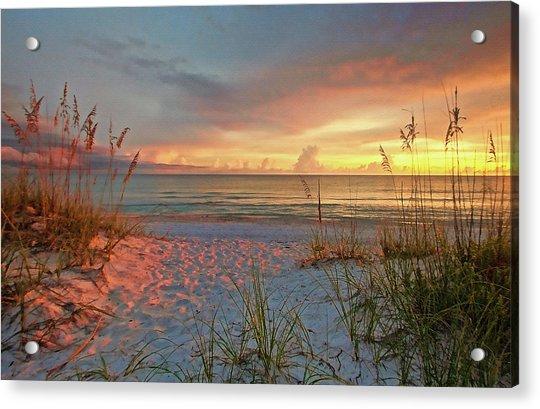 Evening At The Beach Acrylic Print