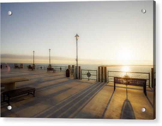 Evening Sun Acrylic Print