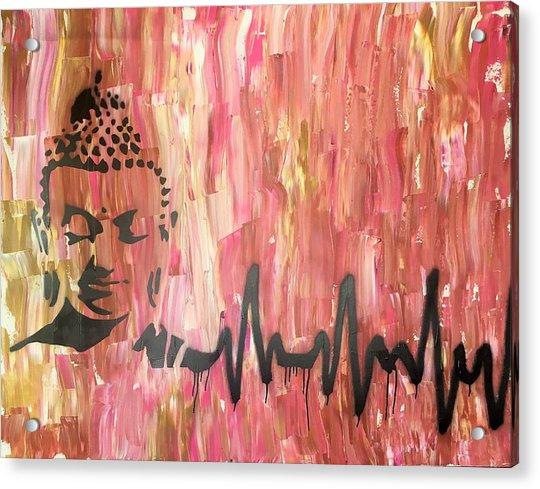 Everything Is Energy Acrylic Print