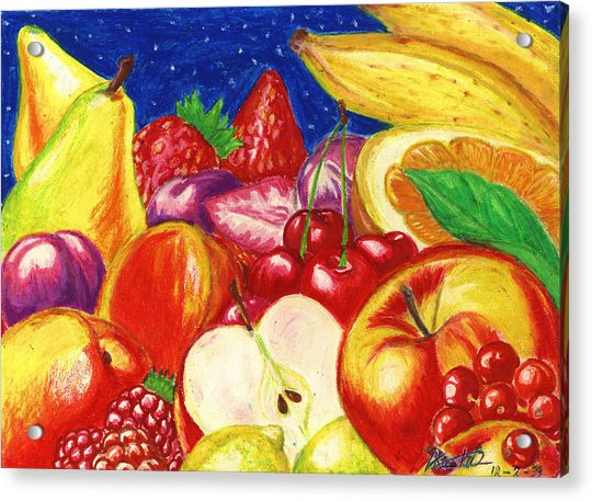Exotic Fruts  Acrylic Print