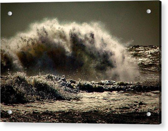 Explosion In The Ocean Acrylic Print