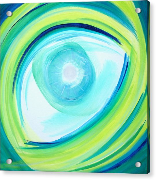 Eye Of God Acrylic Print