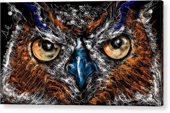 Eyes In The Night... Acrylic Print