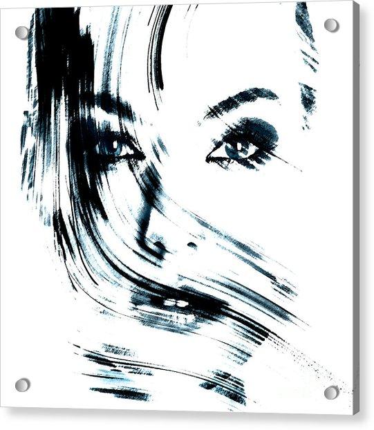 Face Acrylic Print