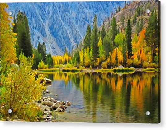 Fall At North Lake Acrylic Print
