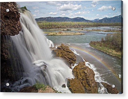 Fall Creek Falls Acrylic Print