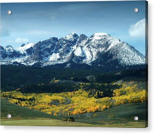 Fall In Colorado Acrylic Print