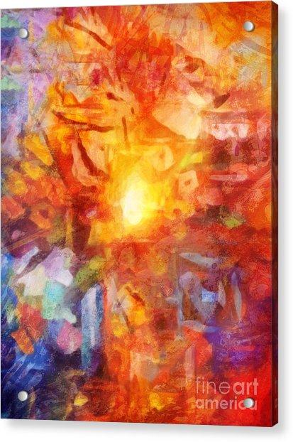 Farbenlicht Acrylic Print