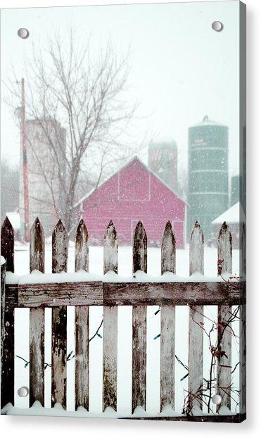 Farmline Christmas Acrylic Print