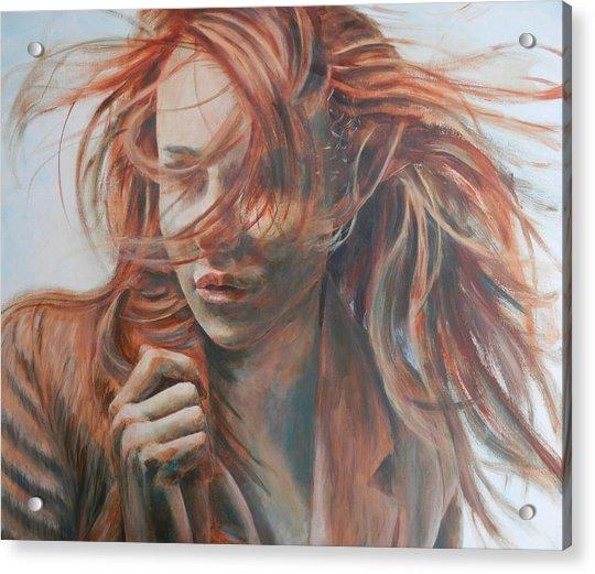Feel The Wind Acrylic Print