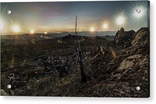 Finger Mountain Solstice Acrylic Print