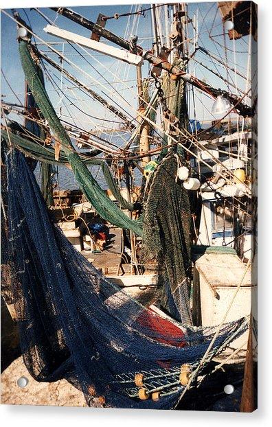 Fishing Nets Acrylic Print
