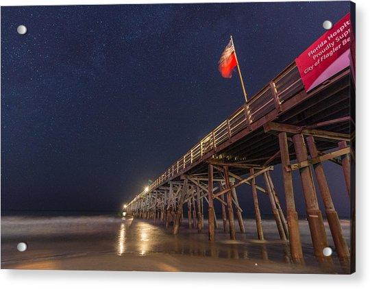 Flagler Beach Acrylic Print