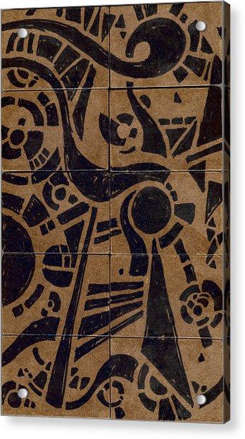 Flipside 1 Panel C Acrylic Print