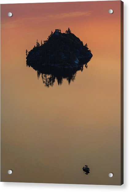 Floating Castle Acrylic Print