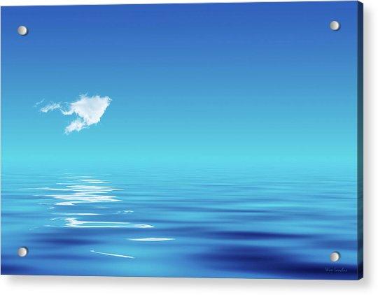 Floating Cloud Acrylic Print