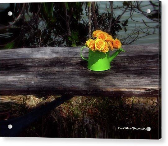 Floral Art 4 Acrylic Print