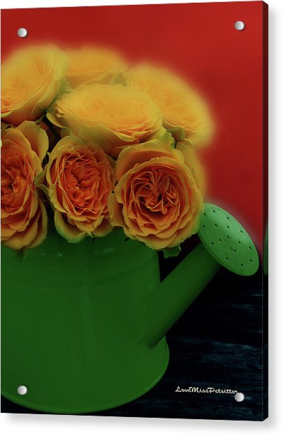 Floral Art 5 Acrylic Print