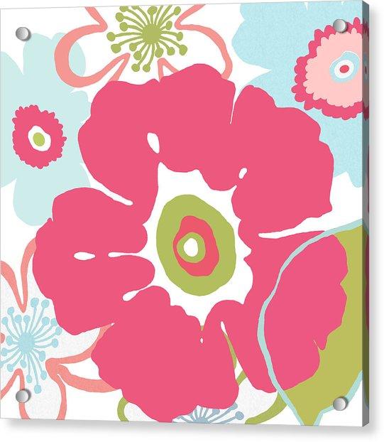 Floral Spring Bouquet 2 Acrylic Print
