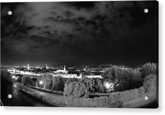 Florence From Above Acrylic Print
