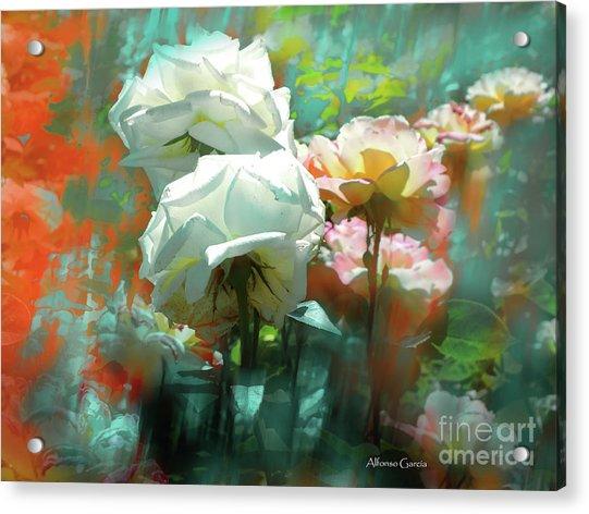 Flores De Junio Acrylic Print