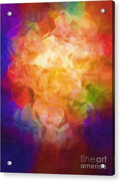 Flowerpot Acrylic Print