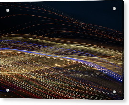 Acrylic Print featuring the photograph Flowing by Michael Lucarelli