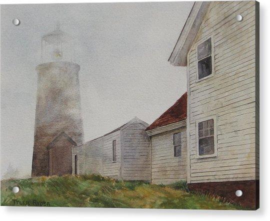 Fog On Monhegan Acrylic Print